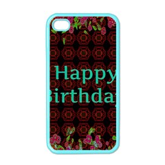 Happy Birthday To You! Apple Iphone 4 Case (color) by Amaryn4rt