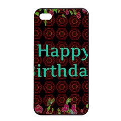 Happy Birthday To You! Apple Iphone 4/4s Seamless Case (black) by Amaryn4rt