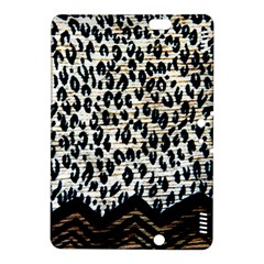 Tiger Background Fabric Animal Motifs Kindle Fire Hdx 8 9  Hardshell Case by Amaryn4rt
