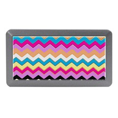 Chevrons Pattern Art Background Memory Card Reader (Mini)