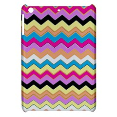 Chevrons Pattern Art Background Apple Ipad Mini Hardshell Case by Amaryn4rt