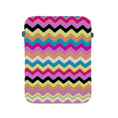 Chevrons Pattern Art Background Apple Ipad 2/3/4 Protective Soft Cases by Amaryn4rt