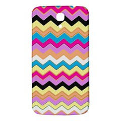 Chevrons Pattern Art Background Samsung Galaxy Mega I9200 Hardshell Back Case by Amaryn4rt