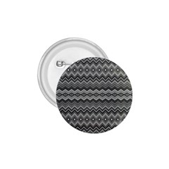 Greyscale Zig Zag 1 75  Buttons by Amaryn4rt