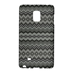Greyscale Zig Zag Galaxy Note Edge by Amaryn4rt
