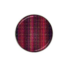 Colorful And Glowing Pixelated Pixel Pattern Hat Clip Ball Marker (10 Pack) by Amaryn4rt