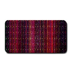 Colorful And Glowing Pixelated Pixel Pattern Medium Bar Mats by Amaryn4rt