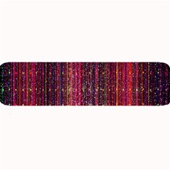 Colorful And Glowing Pixelated Pixel Pattern Large Bar Mats by Amaryn4rt