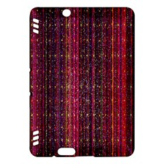 Colorful And Glowing Pixelated Pixel Pattern Kindle Fire Hdx Hardshell Case by Amaryn4rt