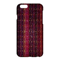 Colorful And Glowing Pixelated Pixel Pattern Apple Iphone 6 Plus/6s Plus Hardshell Case by Amaryn4rt