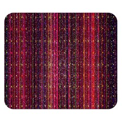 Colorful And Glowing Pixelated Pixel Pattern Double Sided Flano Blanket (small)