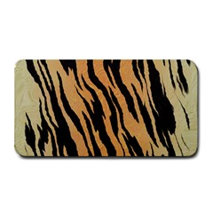Tiger Animal Print A Completely Seamless Tile Able Background Design Pattern Medium Bar Mats by Amaryn4rt