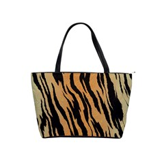 Tiger Animal Print A Completely Seamless Tile Able Background Design Pattern Shoulder Handbags by Amaryn4rt