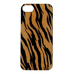 Tiger Animal Print A Completely Seamless Tile Able Background Design Pattern Apple Iphone 5s/ Se Hardshell Case by Amaryn4rt