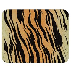 Tiger Animal Print A Completely Seamless Tile Able Background Design Pattern Double Sided Flano Blanket (medium)  by Amaryn4rt