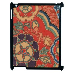 Vintage Chinese Brocade Apple Ipad 2 Case (black) by Amaryn4rt