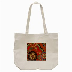 Vintage Chinese Brocade Tote Bag (cream) by Amaryn4rt
