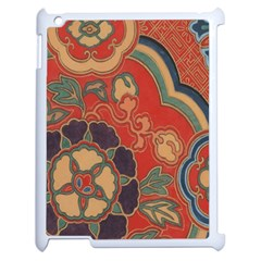 Vintage Chinese Brocade Apple Ipad 2 Case (white) by Amaryn4rt