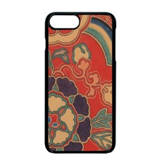 Vintage Chinese Brocade Apple iPhone 7 Plus Seamless Case (Black) by Amaryn4rt