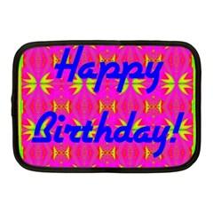 Happy Birthday! Netbook Case (medium)  by Amaryn4rt