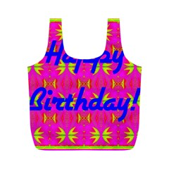 Happy Birthday! Full Print Recycle Bags (m)  by Amaryn4rt