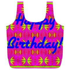 Happy Birthday! Full Print Recycle Bags (l)  by Amaryn4rt