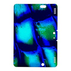 Blue Scales Pattern Background Kindle Fire Hdx 8 9  Hardshell Case by Amaryn4rt