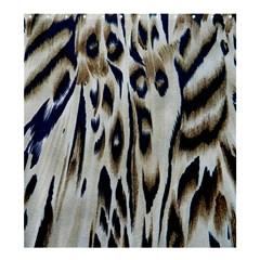 Tiger Background Fabric Animal Motifs Shower Curtain 66  X 72  (large)  by Amaryn4rt
