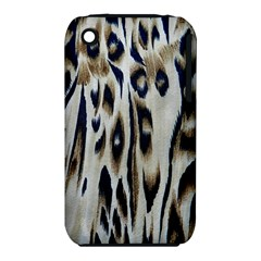 Tiger Background Fabric Animal Motifs Iphone 3s/3gs by Amaryn4rt