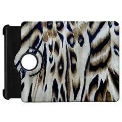 Tiger Background Fabric Animal Motifs Kindle Fire Hd 7  by Amaryn4rt