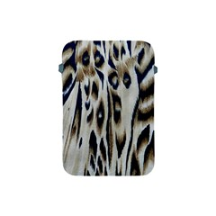 Tiger Background Fabric Animal Motifs Apple Ipad Mini Protective Soft Cases by Amaryn4rt