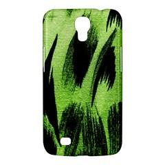 Green Tiger Background Fabric Animal Motifs Samsung Galaxy Mega 6 3  I9200 Hardshell Case by Amaryn4rt