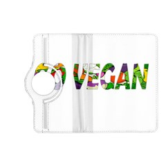 Go Vegan Kindle Fire Hd (2013) Flip 360 Case by Valentinaart
