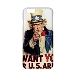 Uncle Sam Apple Iphone 6/6s Hardshell Case by Valentinaart