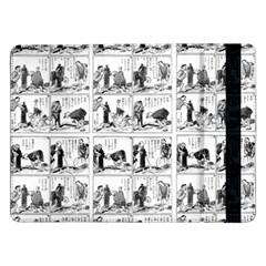 Old Comic Strip Samsung Galaxy Tab Pro 12 2  Flip Case by Valentinaart