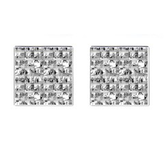 Old Comic Strip Cufflinks (square) by Valentinaart