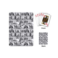 Old Comic Strip Playing Cards (mini)  by Valentinaart