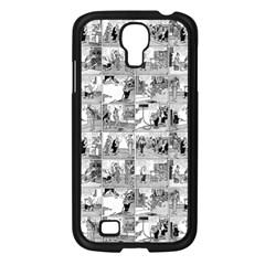 Old Comic Strip Samsung Galaxy S4 I9500/ I9505 Case (black) by Valentinaart