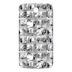Old Comic Strip Samsung Galaxy Mega I9200 Hardshell Back Case by Valentinaart