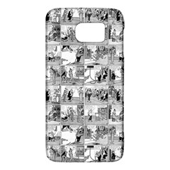 Old Comic Strip Galaxy S6 by Valentinaart