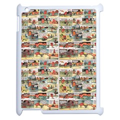 Old Comic Strip Apple Ipad 2 Case (white) by Valentinaart