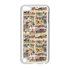 Old Comic Strip Apple Ipod Touch 5 Case (white) by Valentinaart
