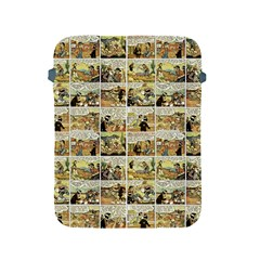 Old Comic Strip Apple Ipad 2/3/4 Protective Soft Cases by Valentinaart