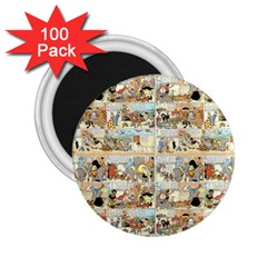 Old Comic Strip 2 25  Magnets (100 Pack)  by Valentinaart