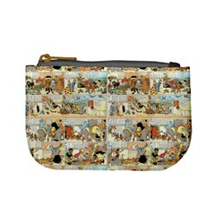 Old Comic Strip Mini Coin Purses by Valentinaart