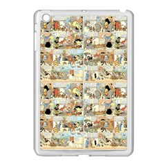 Old Comic Strip Apple Ipad Mini Case (white) by Valentinaart