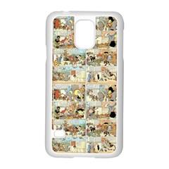 Old Comic Strip Samsung Galaxy S5 Case (white) by Valentinaart