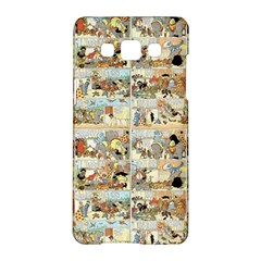 Old Comic Strip Samsung Galaxy A5 Hardshell Case  by Valentinaart