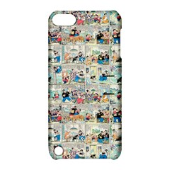 Old Comic Strip Apple Ipod Touch 5 Hardshell Case With Stand by Valentinaart