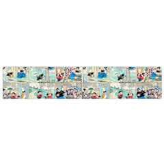 Old Comic Strip Flano Scarf (small) by Valentinaart
